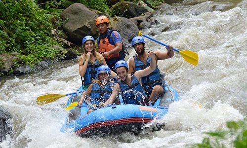 Ayung Rafting and Uluwatu Tour