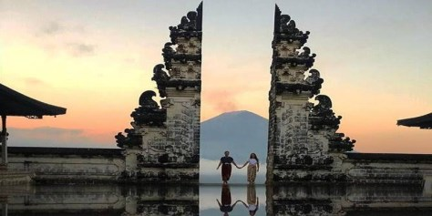 Lempuyang Heaven Gate and Tukad Cepung Waterfall Tour