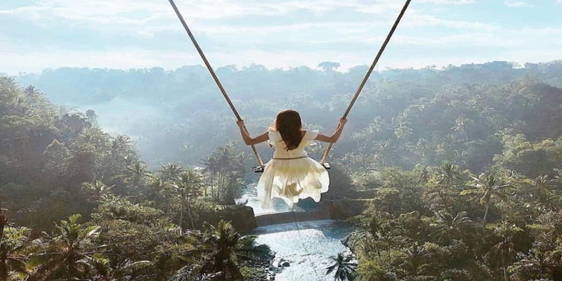 Bali Elephant Ride and Swing