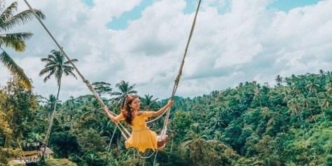 Bali Swing and Kintamani Volcano Tour