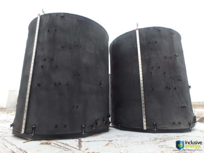 2000 BBL tanks | Inclusive Energy
