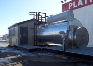 2.5 MM BTU/HR SOUR 3-coil Line Heater package