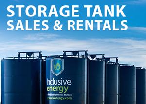 storage tanks sales and rentals