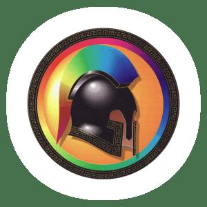 Spartans Logo Glow