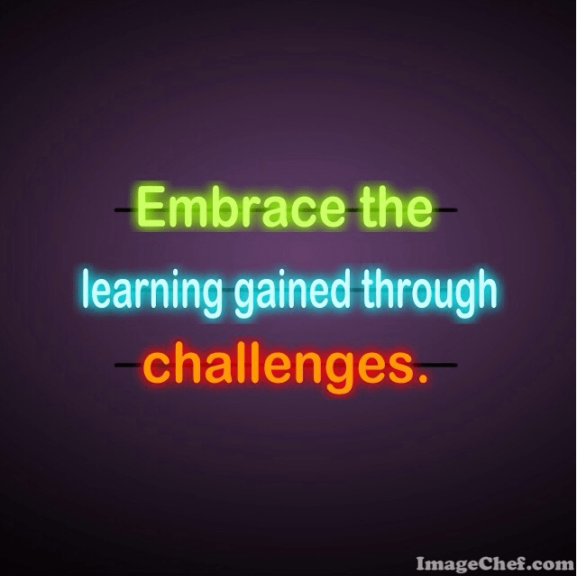 Embrace the learning gained through change in education