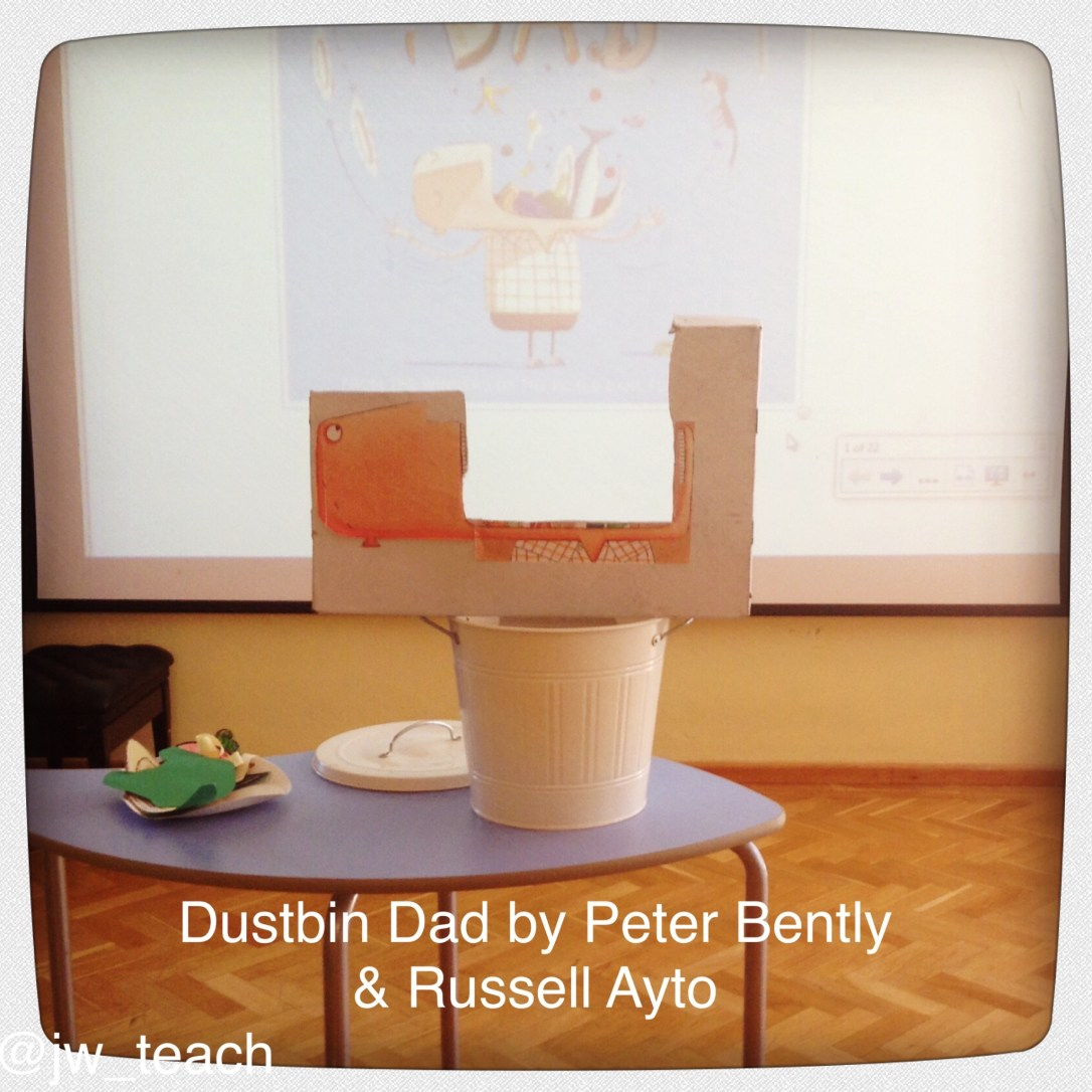 Dustbin Dad by Peter Bently and Russel AYTO Storytelling