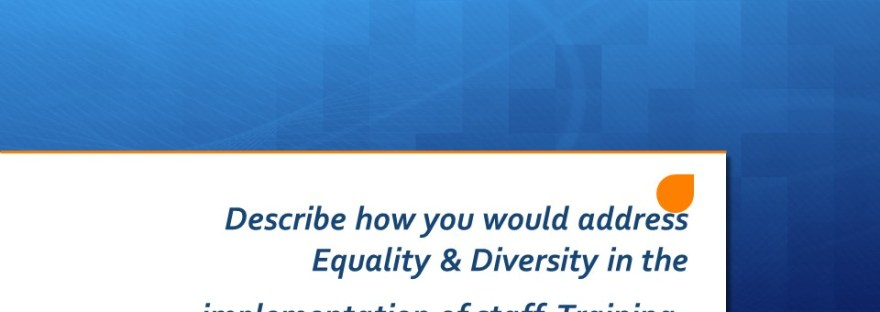 equality and diverdity PBS training