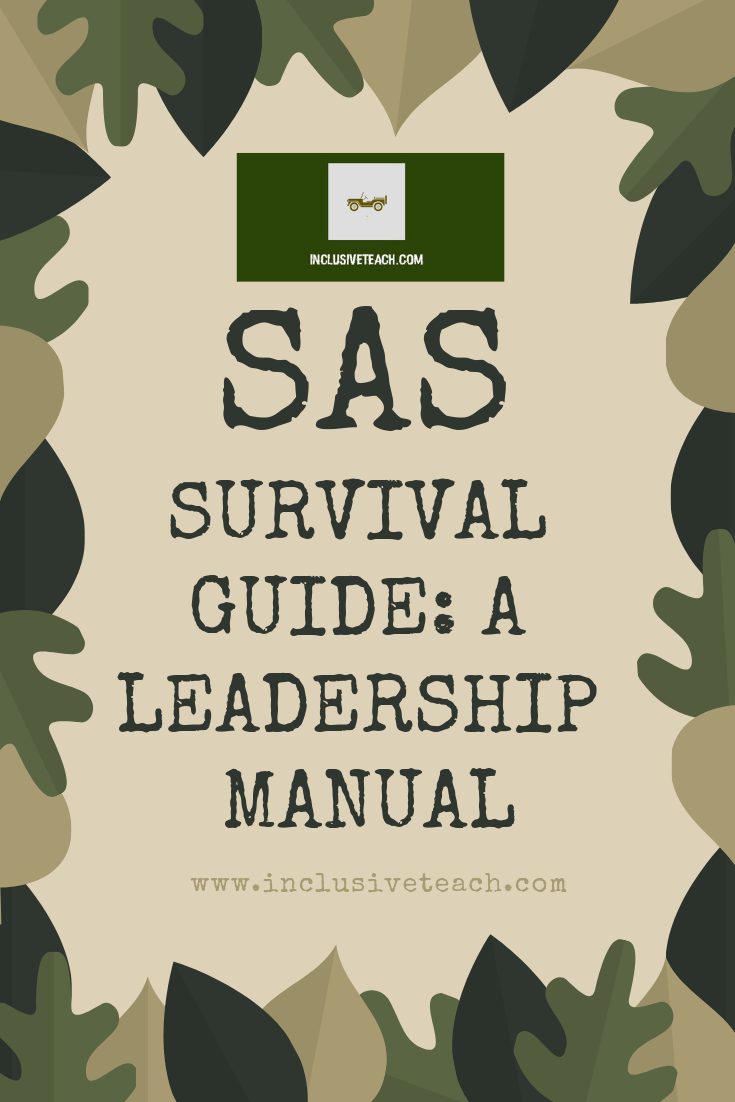 SAS Survival Guide: a leadership manual
