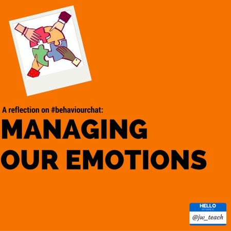 managing our emotions challenging behaviour