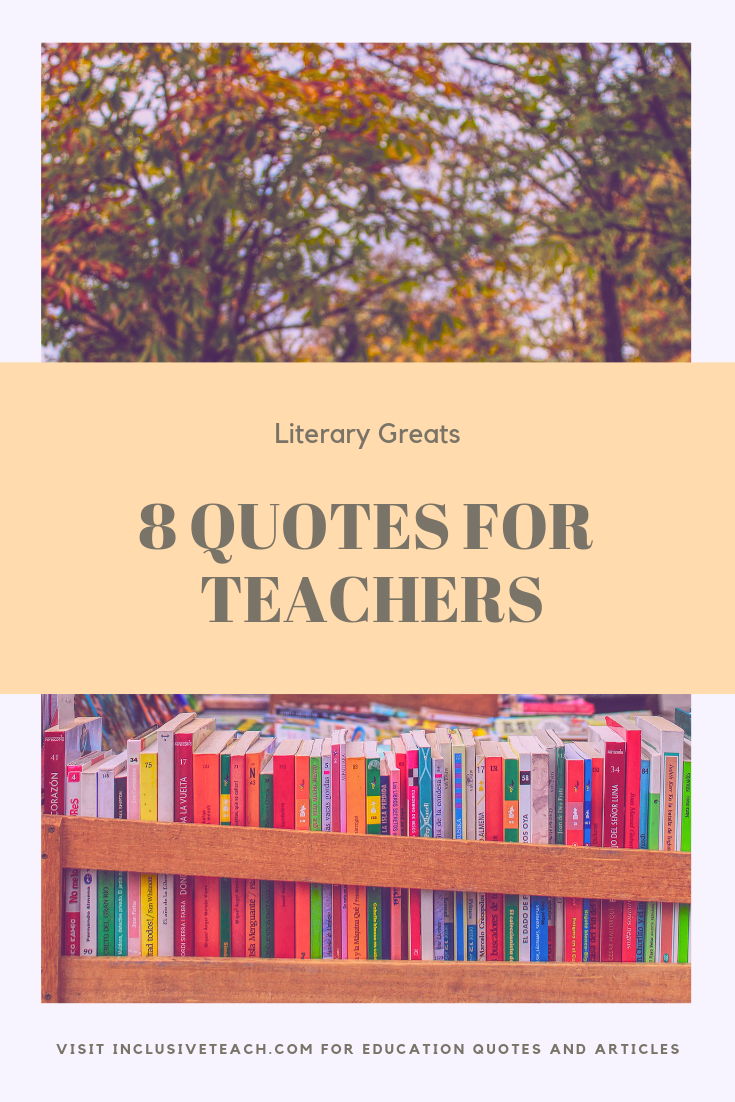 Teaching Quotes article with free printable education quotes