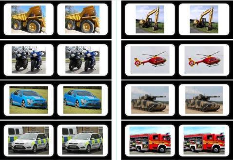 vehicles Free SEN teaching topic worksheets