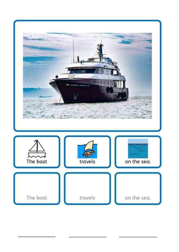 free ferry SEN teaching resources