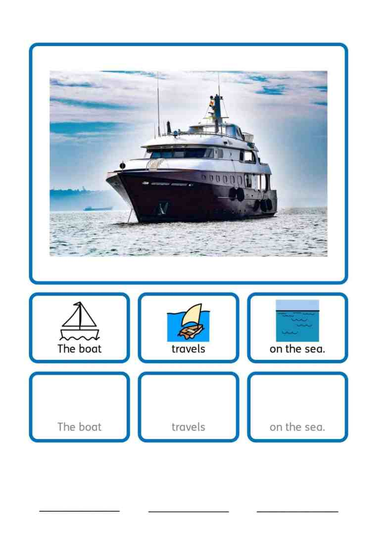 free ferry SEN teaching resources