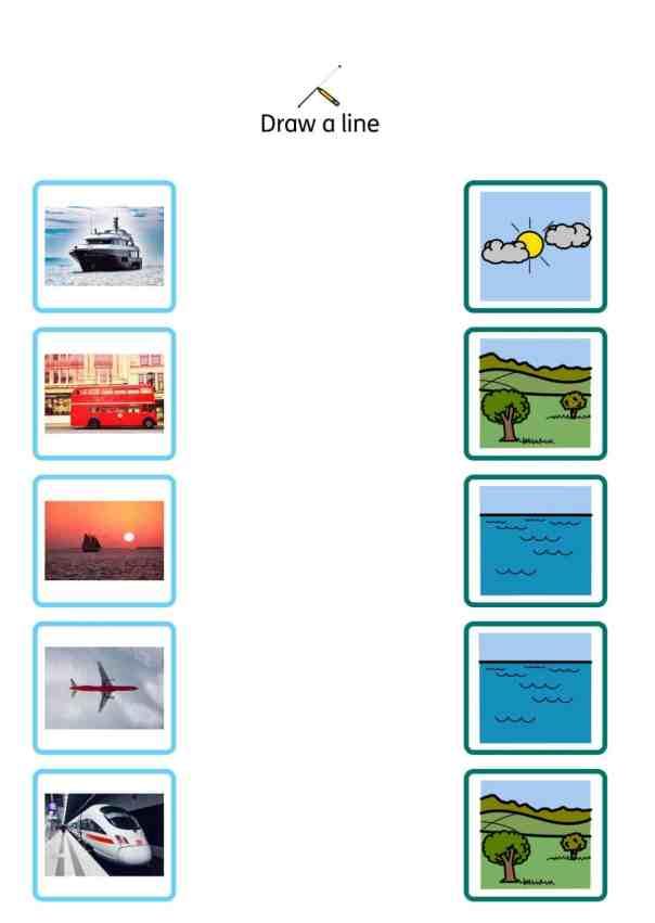 free vehicles SEN teaching resources