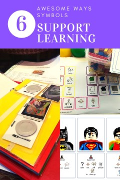symbol visual supports learning
