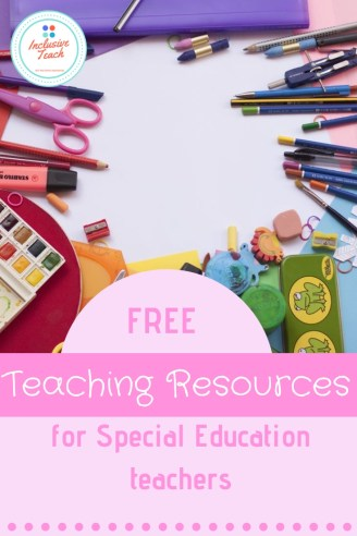 Free teaching resources for SEN teachers blog page