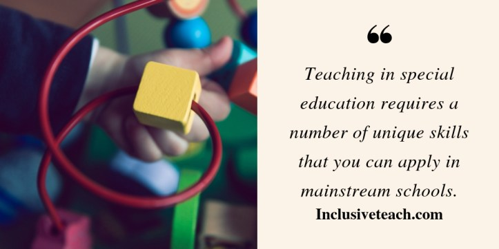 special education interview quote