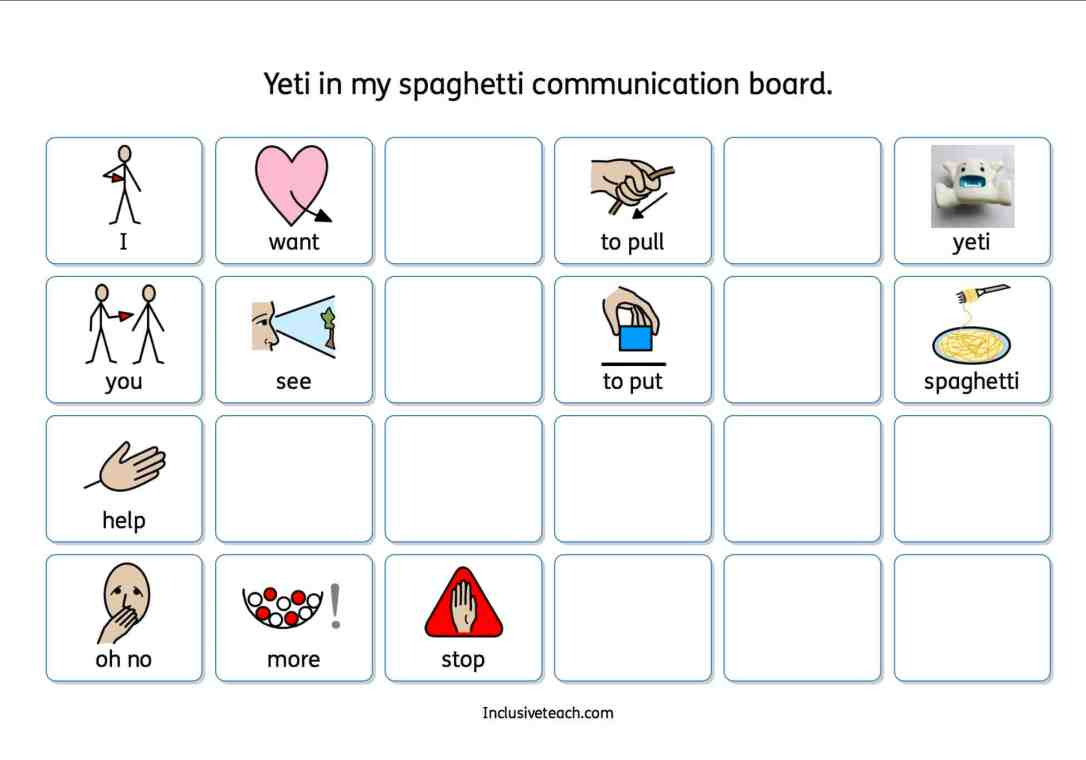 for slcn AAC game session
