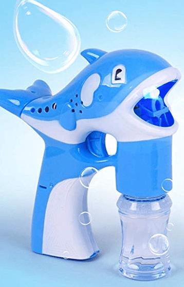 Whale bubble machine sensory story