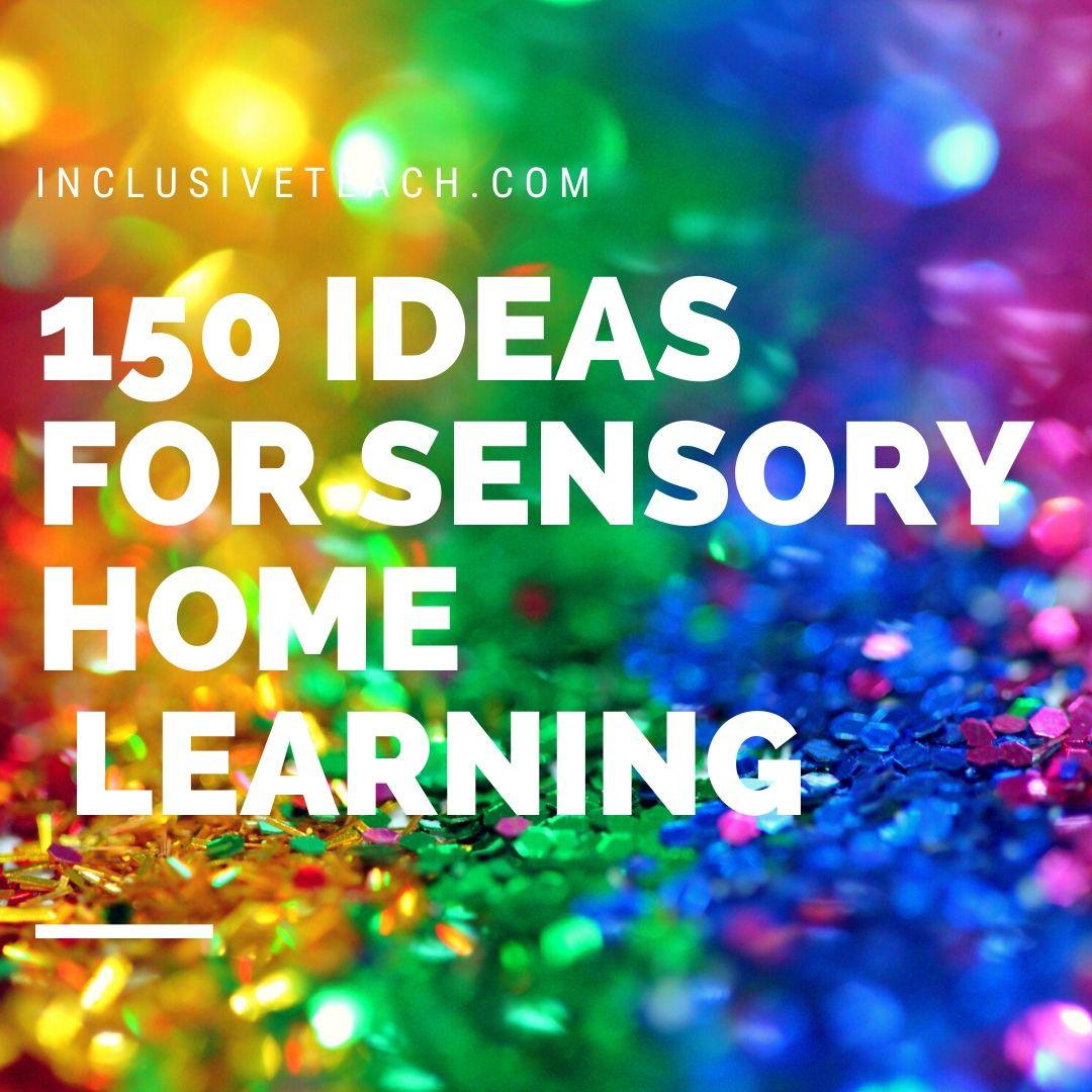 20 Sensory Learning Ideas