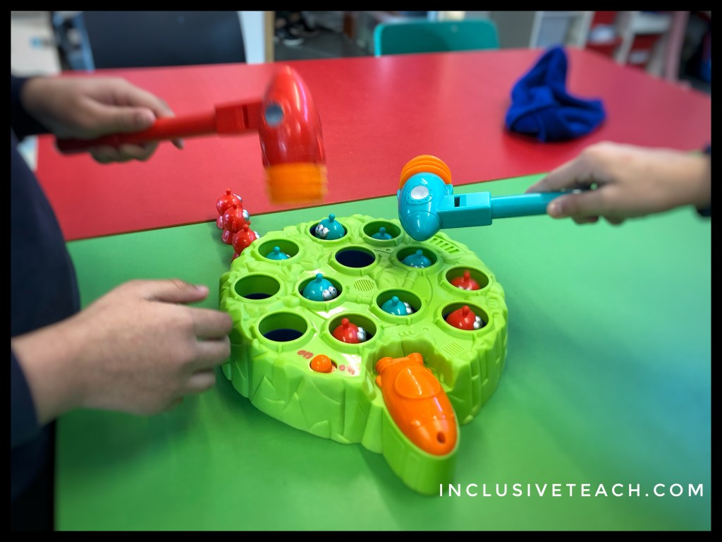 Manic Martians AAC joint interaction and communication game.