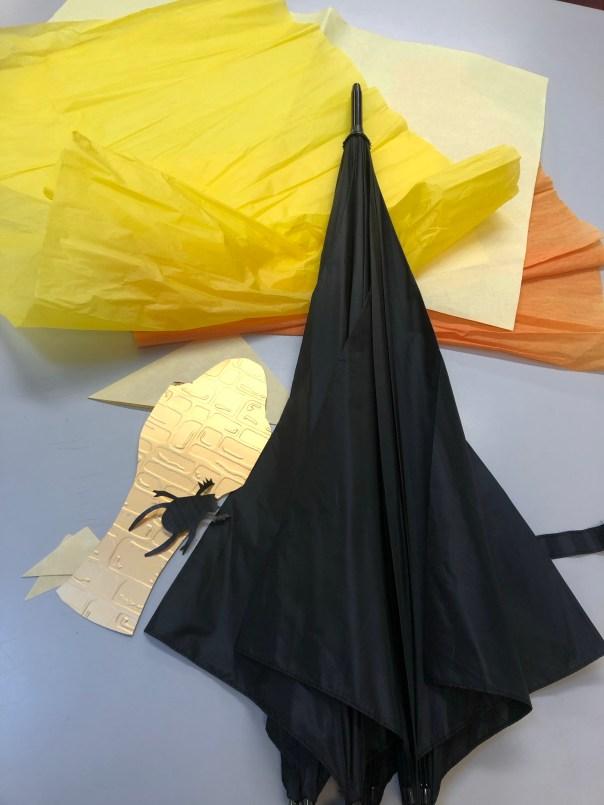 Ancient Egypt topic sensory umbrella
