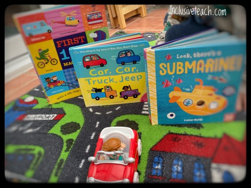 Transport books for early years. Car, car, truck, jeep