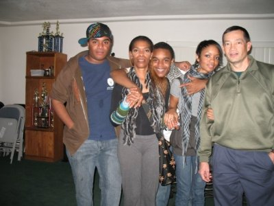 Me, my brothers, my mother, and my step dad