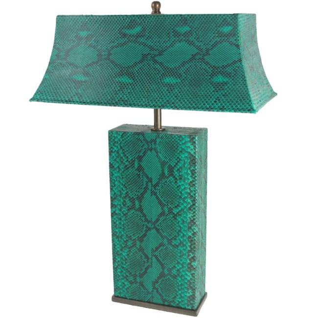 Karl Springer Table Lamp in Python, going for $4,500 on 1stdibs.com