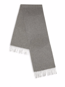 YSL wool/cashmere scarf, $69.99