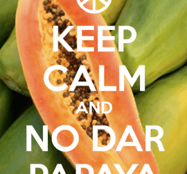 no dar papaya