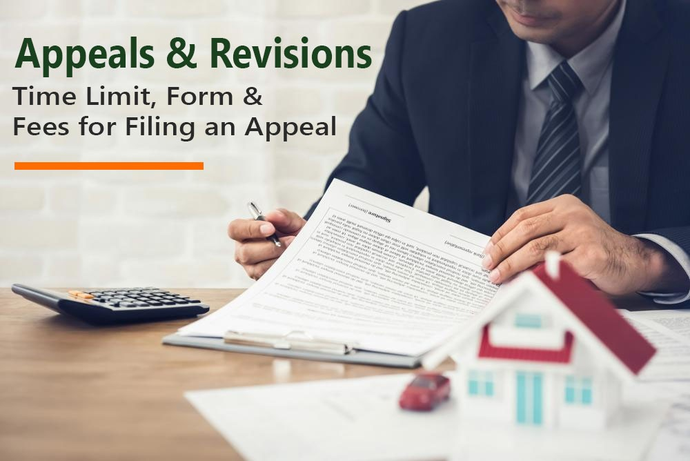 Time Limit, Form & Fees for Filing an Appeal