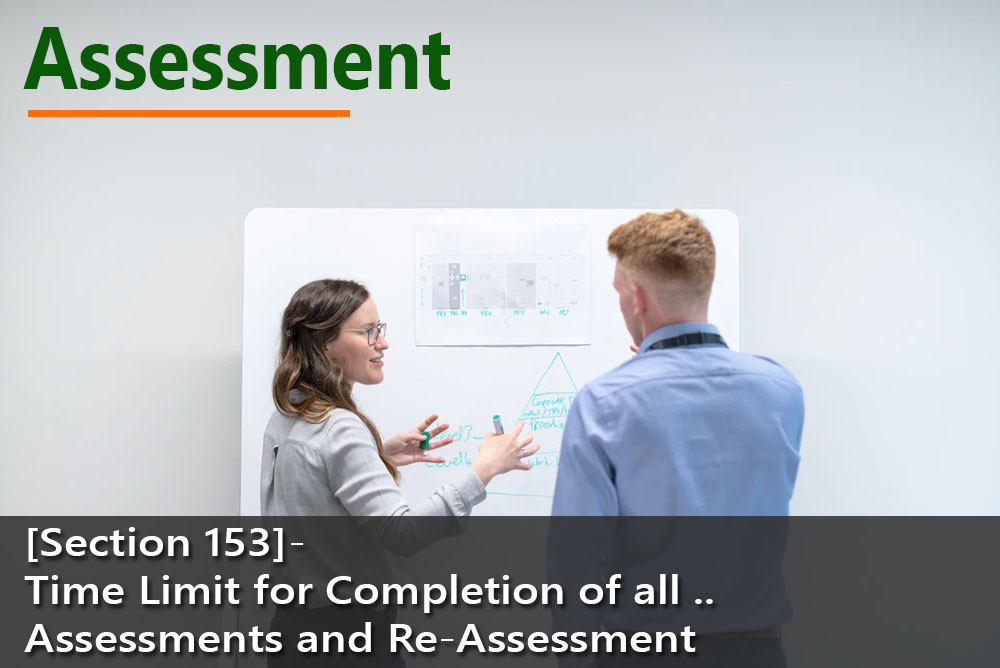 [Section 153]- Time Limit for Completion of all Assessments and Re-Assessment