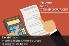 Taxability - Income from Other Sources [Sections 56 to 59]
