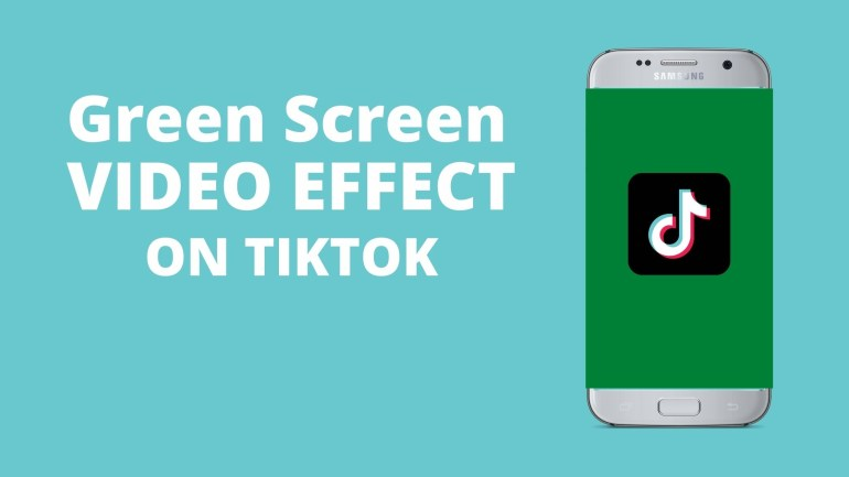how to do green screen on tiktok with multiple photos