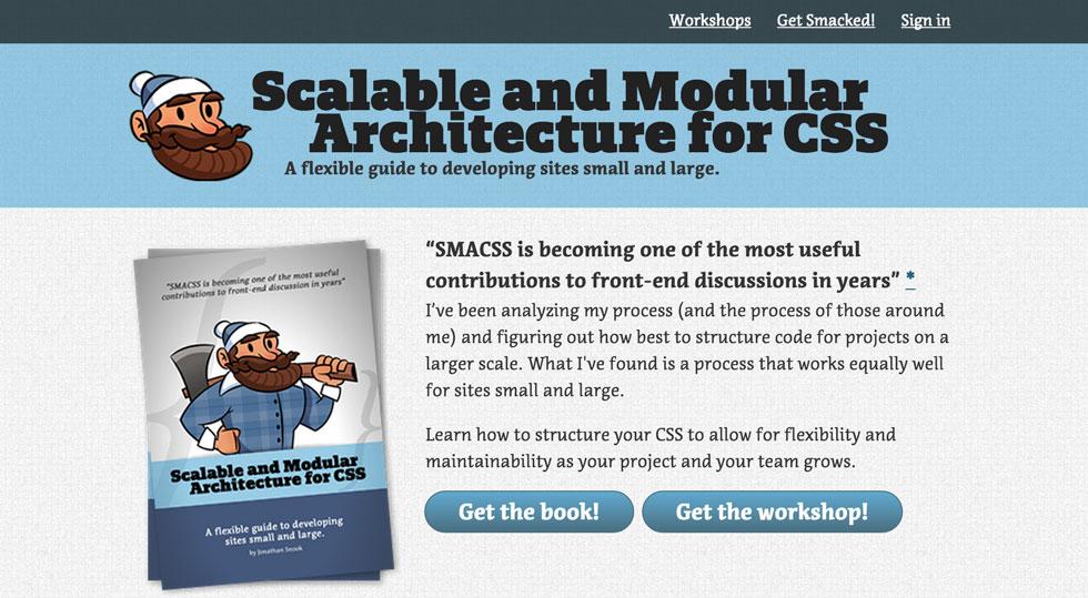 Sistema escalable de CSS, Smacss.