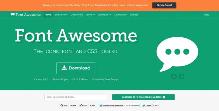 Font Awesome home