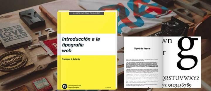 Portada libro de Introducción a la Tipografía Web