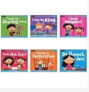 Set of 6 Social Emotional Books