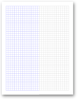 Free Online Graph Paper  Grid Paper PDFs