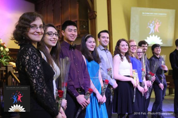 Our musicians from our 10th Anniversary Concert (Feb. 2016)
