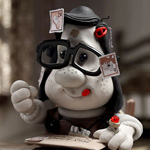 Toni Collette (voice) in Mary and Max