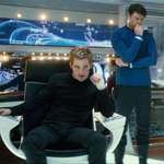 (from left) Chris Pine and Karl Urban in Star Trek