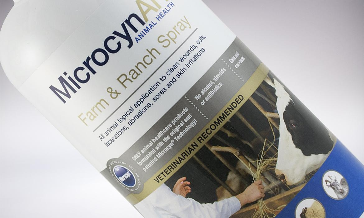 MicrocynAH Packaging Farm & Ranch close up