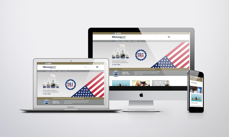 MicrocynAH web design