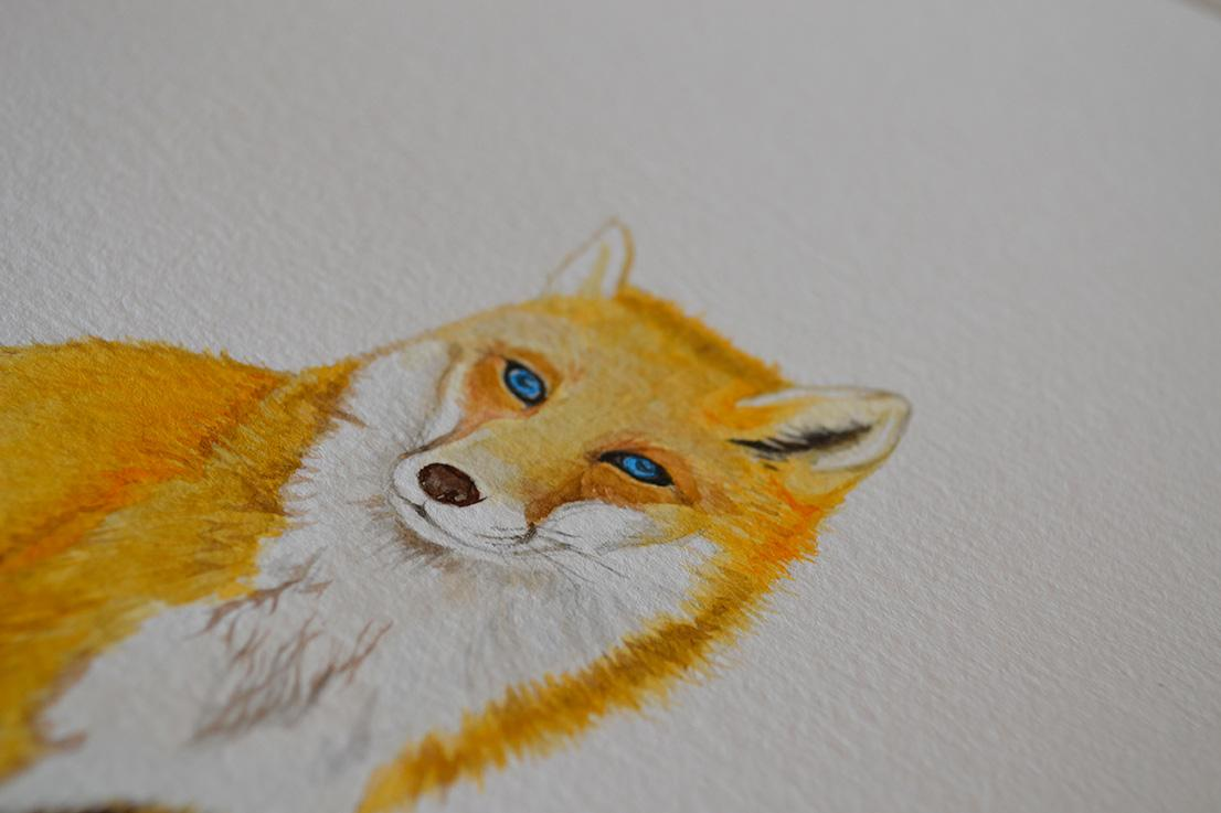 Fox for Hank by Cheung Vong