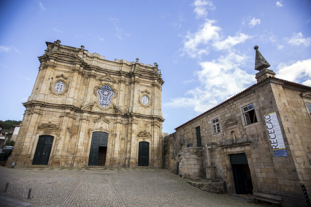 Mosteiro de Santa Maria de Salzedas, em Tarouca, é da Ordem de Cister e faz parte do Caminho de Santiago