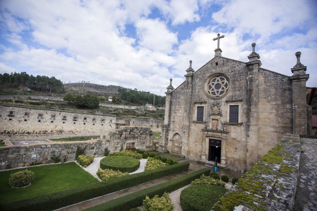 Mosteiro de São João de Tarouca, primeiro mosteiro masculino da Ordem de Cister em Portugal, e ponto de paragem do Caminho de Santiago