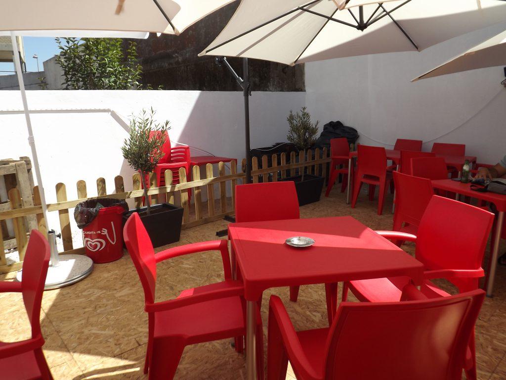 Esplanada do restaurante O Tosco em Braga
