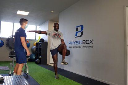 Treino com atleta ou cliente na Physiobox - - Centro de Reabilitação e Performance, clínica de fisioterapia de Vila Nova de Gaia